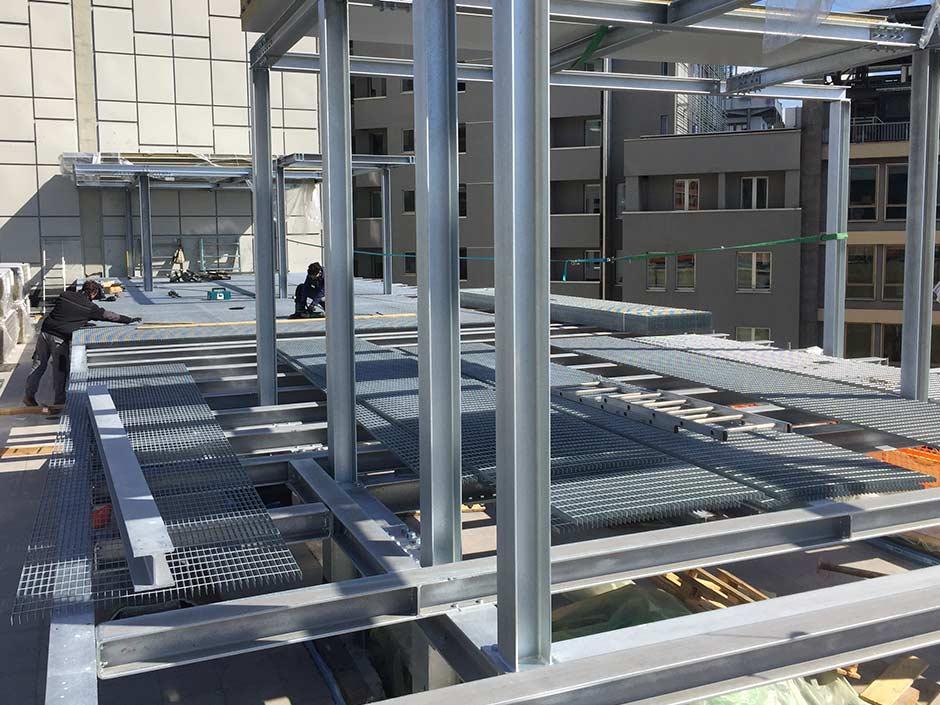 Carpenteria strutturale per grandi fabbricati