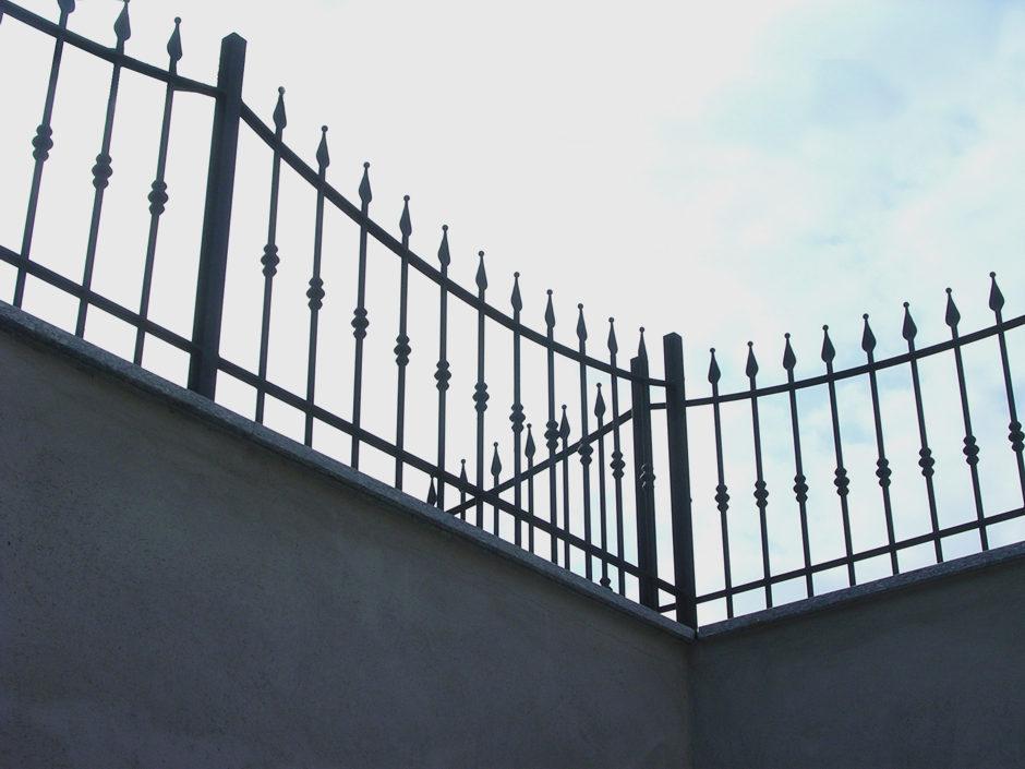 Recinzioni in ferro per abitazione