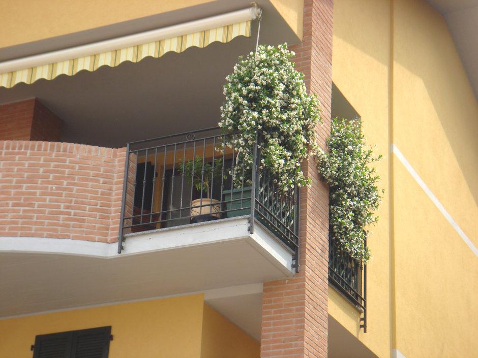 Balconi e ringhier in acciaio inox
