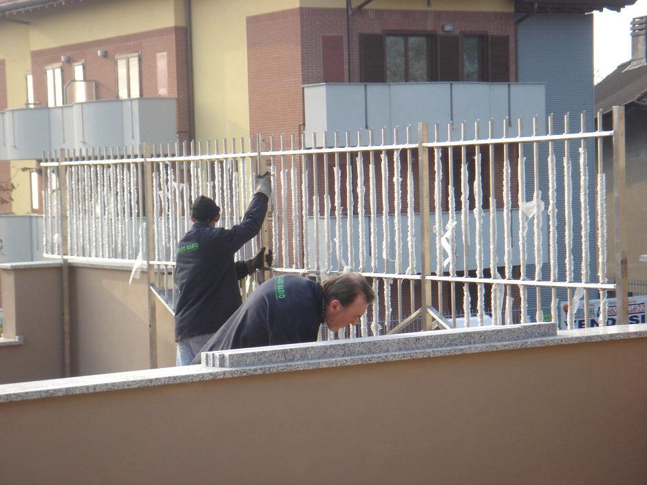 Parapetti e balconi in ferro