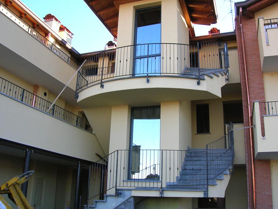 Balconi - Parapetti in ferro e vetro
